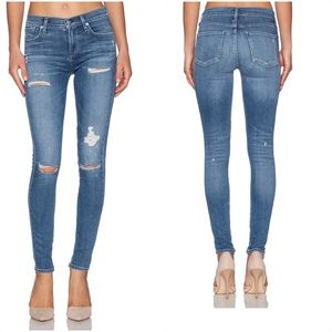 AGOLDE Sophie High Rise Skinny in Cannes Size 25